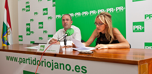 Gloria León y Rubén Gil Trincado, Comité Logroño PR+