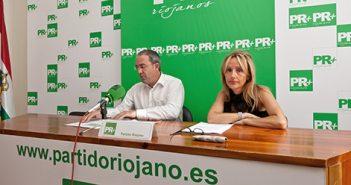 Gloria León y Rubén Gil Trincado, PR+