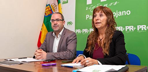 Margarita Aldama y Rubén Gil Trincado, PR+