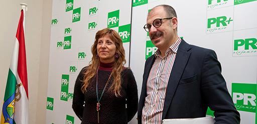Margarita Aldama y Miguel González de Legarra, PR+