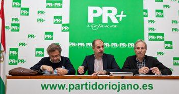 Julio Revuelta, Miguel González de Legarra y Enrique Acha, PR+