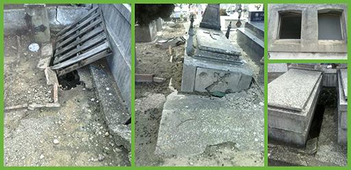 Estado actual del Cementerio de La Planilla en Calahorra