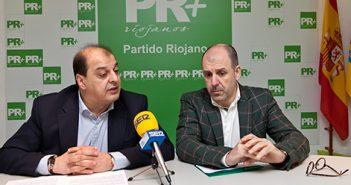 Leopoldo García y Miguel González de Legarra, PR+