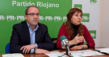 Marga Aldama y Rubén Gil, PR+