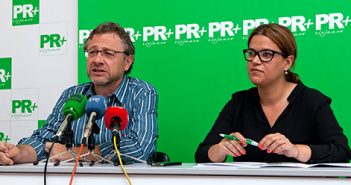Raquel Recio y Julio Revuelta, PR+