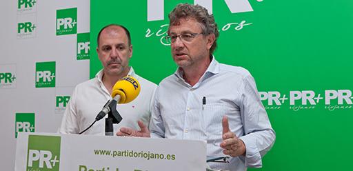 Julio Revuelta y Miguel González de Legarra, PR+