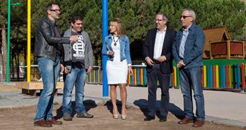 Rubén Antoñanzas, Gloria León, Fernando Martínez, Rubén Gil y Paco Herce, PR+