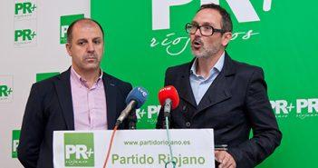 Miguel González de Legarra y Rubén Antoñanzas, PR+