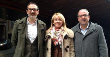 Gloria León,Rubén Antoñanzas y Rubén Gil Trincado, PR+