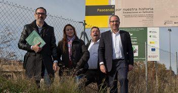 Rubén Antoñanzas, Rubén Gil Trincado, Marian Borges y Juan Antonio de Luis