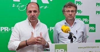 Miguel González de Legarra y Julio Revuelta, PR+