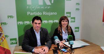 Fernando Gómez Herrainz junto a Marga Aldama