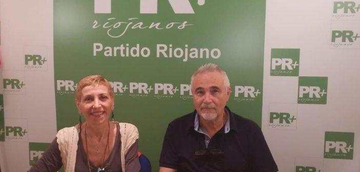 Foto Margarita Aldama y Josñe Manuel Orive